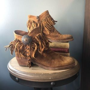 Sam Edelman Sidney fringe ankle boot
